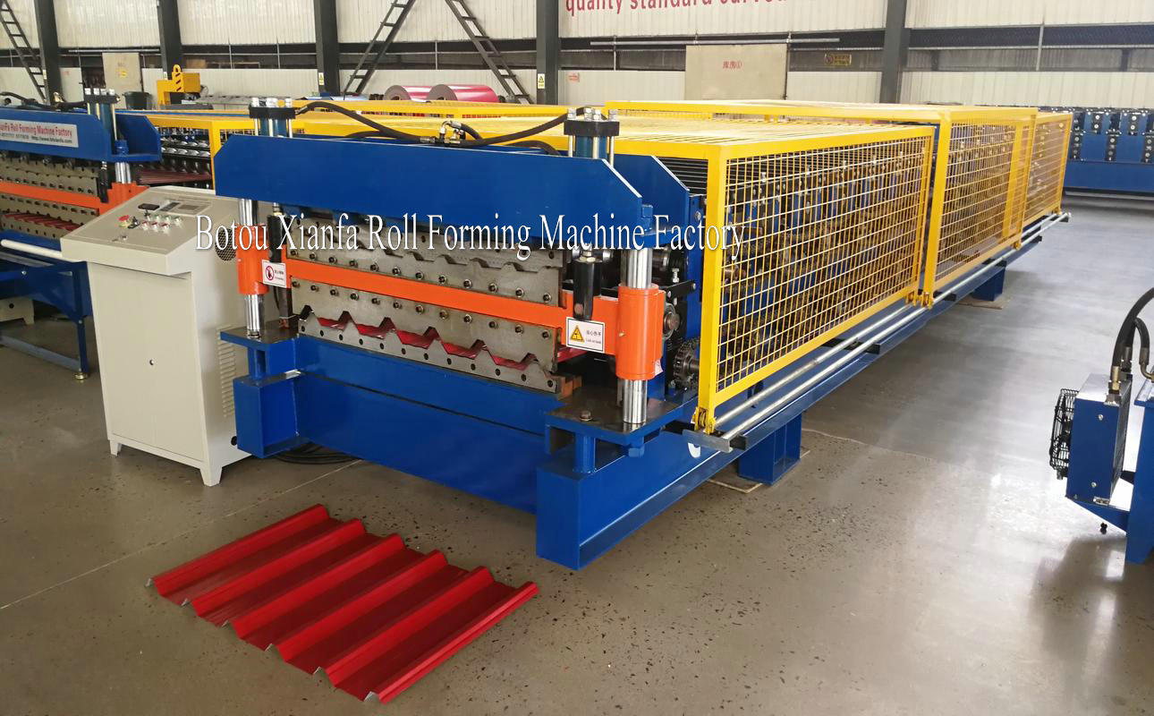 Croatia double deck roll forming machine