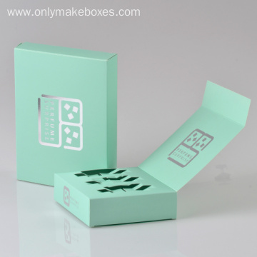 Simple Card Boxes For Green Tea Packaging