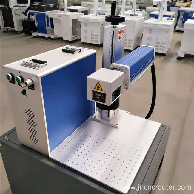 Desktop fiber laser marking machine for pet pad