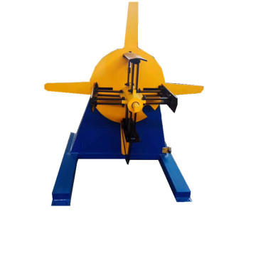 Electric and hydraulic uncoiler