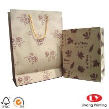 Fashionable Custom Gift Shopping Strong Paper Bags