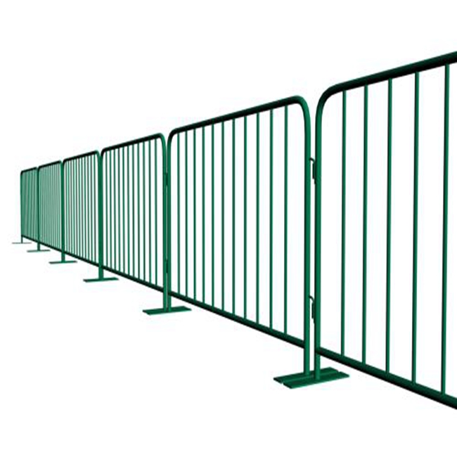 High Quality Movable Powder Coated Fence