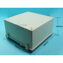 High Quality for Plastic Enclosure,Junction Box,Connect Box Manufacturers and Suppliers in China Solar Battery Box Enclosure (ECL330X330H180) supply to Yugoslavia Factories