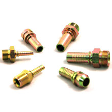 JIC Male 74 Degrees Hydraulic Hose End Fittings