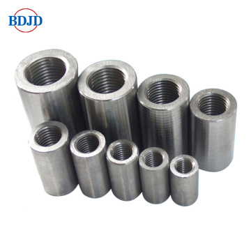 Construction material steel rod splicing rebar coupler price