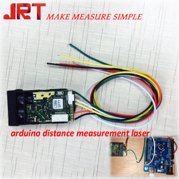 arduino distance measurement laser