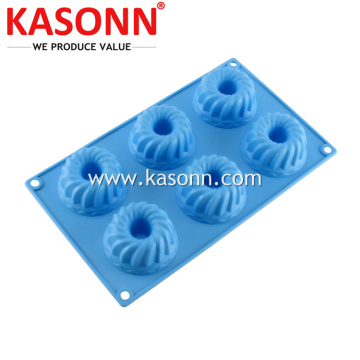 Mini Silicone Bunt Bundt Baking Cetakan Pan