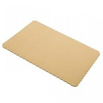 Cake Boards Grease-Resistant Round Golden Silver Base