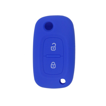 Silicone Renault smart key leather cover