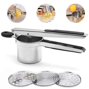 Stainless steel ginger masher garlic masher