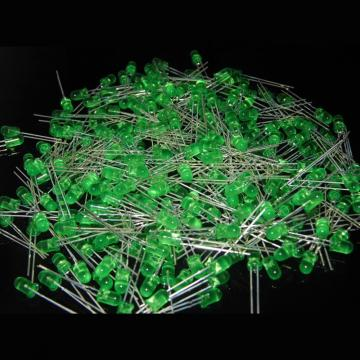5mm LED Green Diffused Lens Epistar Chips