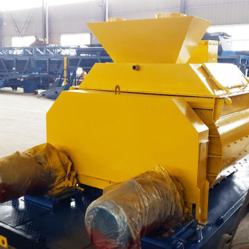 Large portable self loading JS concrete mixer 1500 liter