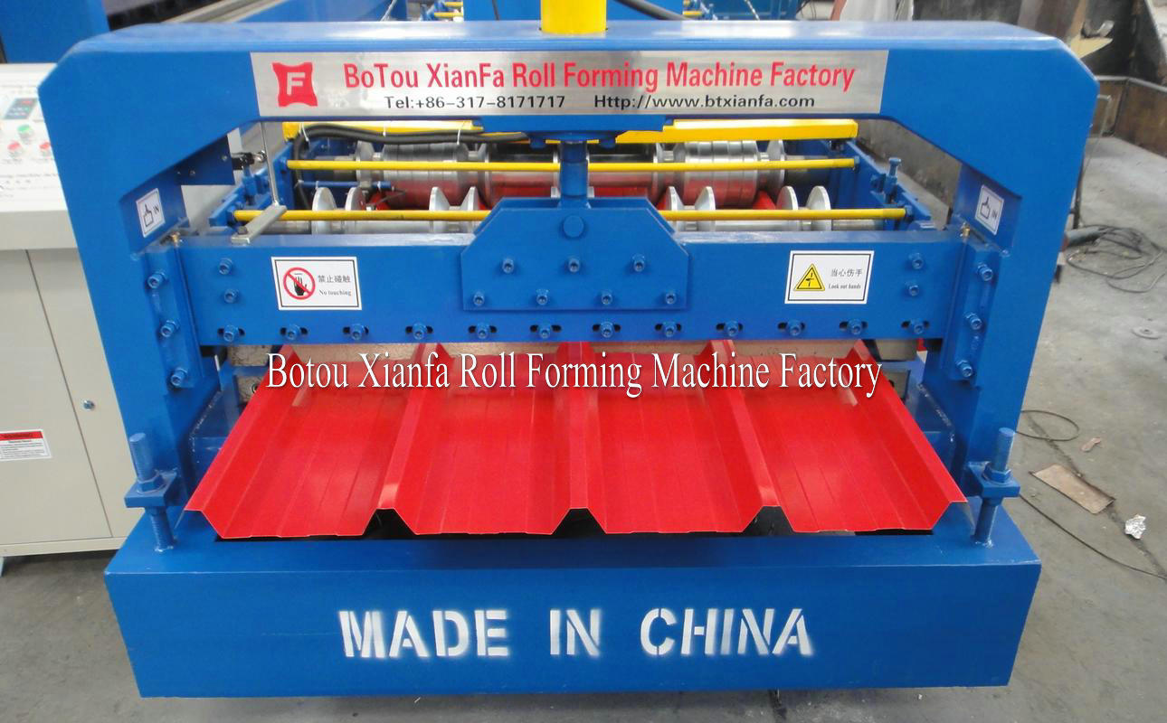 metal ibr roof roll forming machine