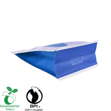 Gravure Printing Colorful Round Bottom Small Biodegradable Ziplock Bag Supplier In China