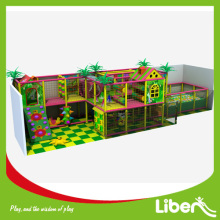 Indoor play with free jumping tunnel