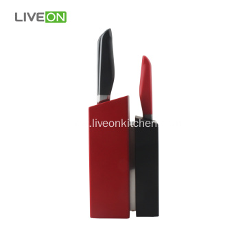 5 pcs Kitchen Knife Set With Pine Block