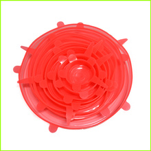 ODM for Super Stretch Lids,Kitchen Silicone Stretch Lids,Silicone Cup Lid Wholesale From China Heat Resistant Wholesale Silicone Lid Cover Set supply to Jamaica Factory