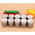 Stainless Steel Condiment Containers with Adjustable Holes