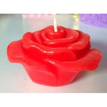 Wholesale colorful flower shape candle
