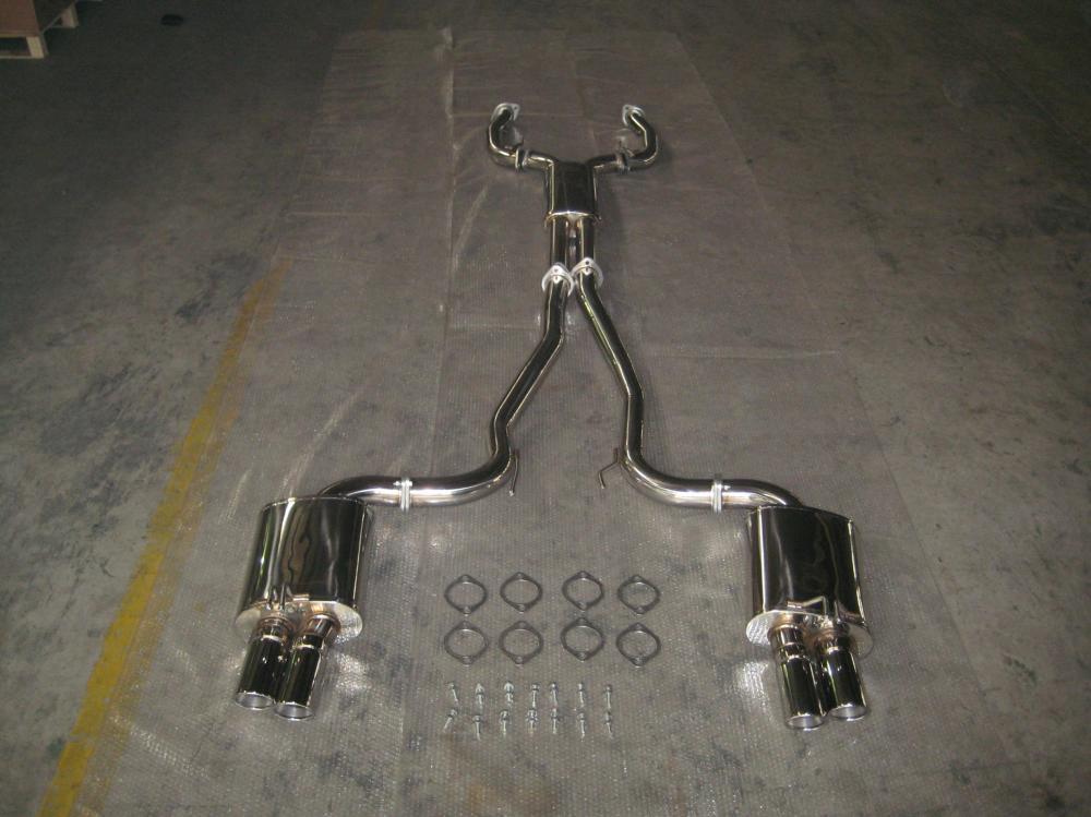 "3"" V Band Sedan Exhaust System China Manufacturer"