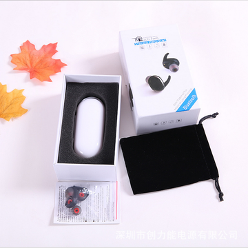 OEM/ODM for Earbud Bluetooth Waterproof wireless Sport Earphone with Charge Case supply to Mayotte Supplier