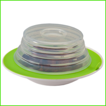 Good Quality for Supply Various Round Silicone Stretch Platter Topper,Regular Silicone Platter Topper of High Quality Multi-fuction Eco Folding Silicone Plate Topper export to Niger Exporter