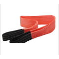 5T Loading Capacity 100% Polyester Webbing Sling Lifting Belt