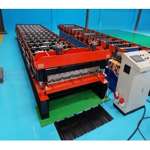 PPGI/GI Metal Roof panel rolling making machine