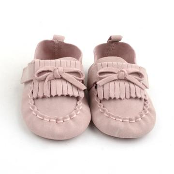 Suede Leather Tassel With Bow-knot Baby Dress Shoes