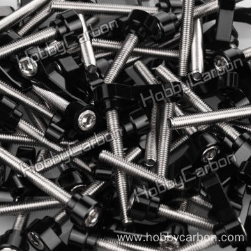 I-CNC Aluminium Wing Head Knob Screws Thumb Screws