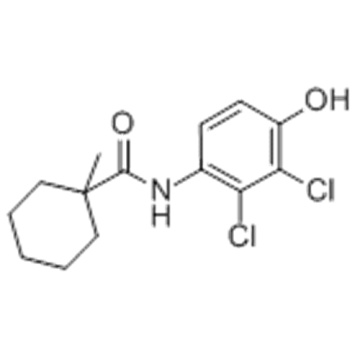Cyclohexancarbonsäureamid, N- (2,3-Dichlor-4-hydroxyphenyl) -1-methyl-CAS 126833-17-8