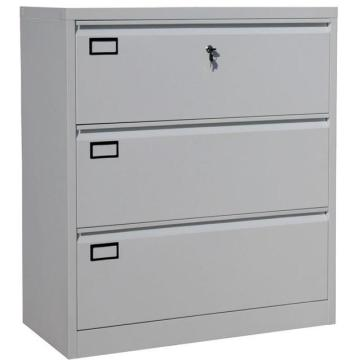 Office furniture Lateral metal 3 drawer file cabinet