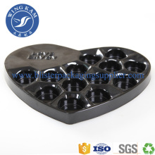 China for Custom Shape Thermoforming Tray Heart Shapes Tray For Chocolate Cake Box Packaging export to Peru Factory