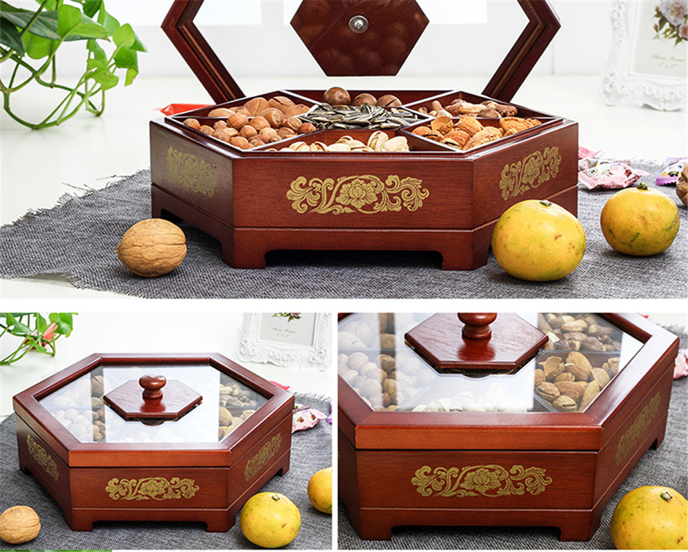 antique wooden dried fruit box