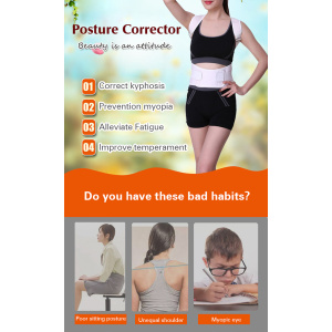 shoulder support back posture corrector