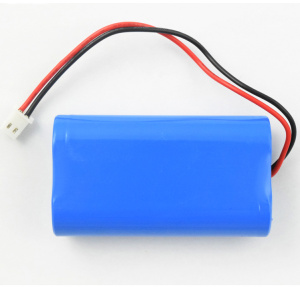 18650 rechargeable 2s1p 7.4v 2600mah li-ion battery pack