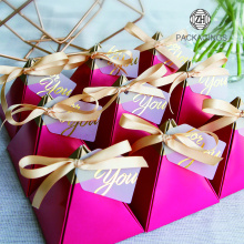 Pyramid candy box for wedding favors wholesale