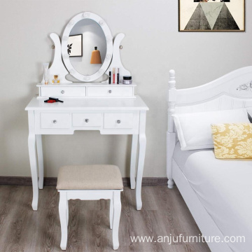 Living room furniture Mirrored Dressing Table Modern