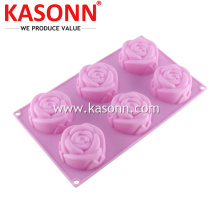 6 Cawan Mini Rose Silicone Roti Cookie Roti