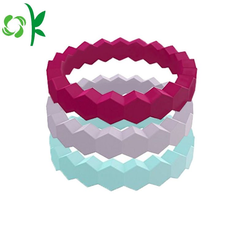 Wavy Heart Silicone Ring