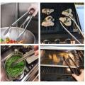 Stainless Steel Kitchen Salad Bread Food Tong