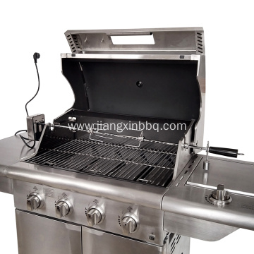 Heavy Duty Universal Grill Replacement Rotisserie Kit