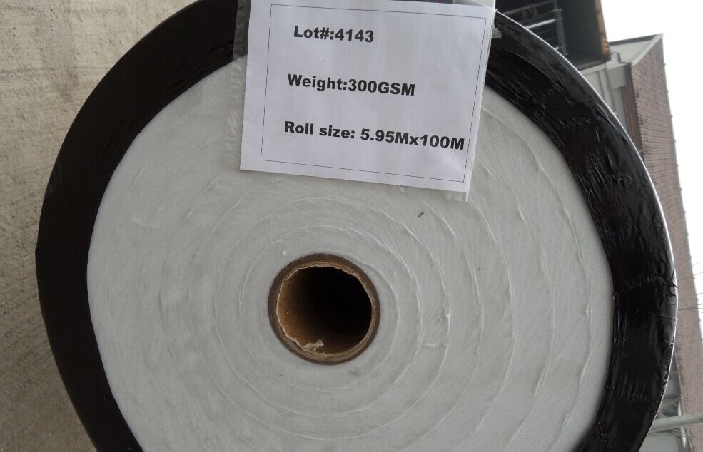 PET Staple Fiber Needlepunched Nonwoven Geotextile
