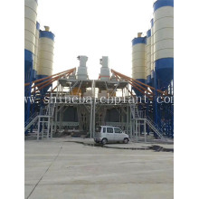 Wet Stationery Concrete Batching Plant