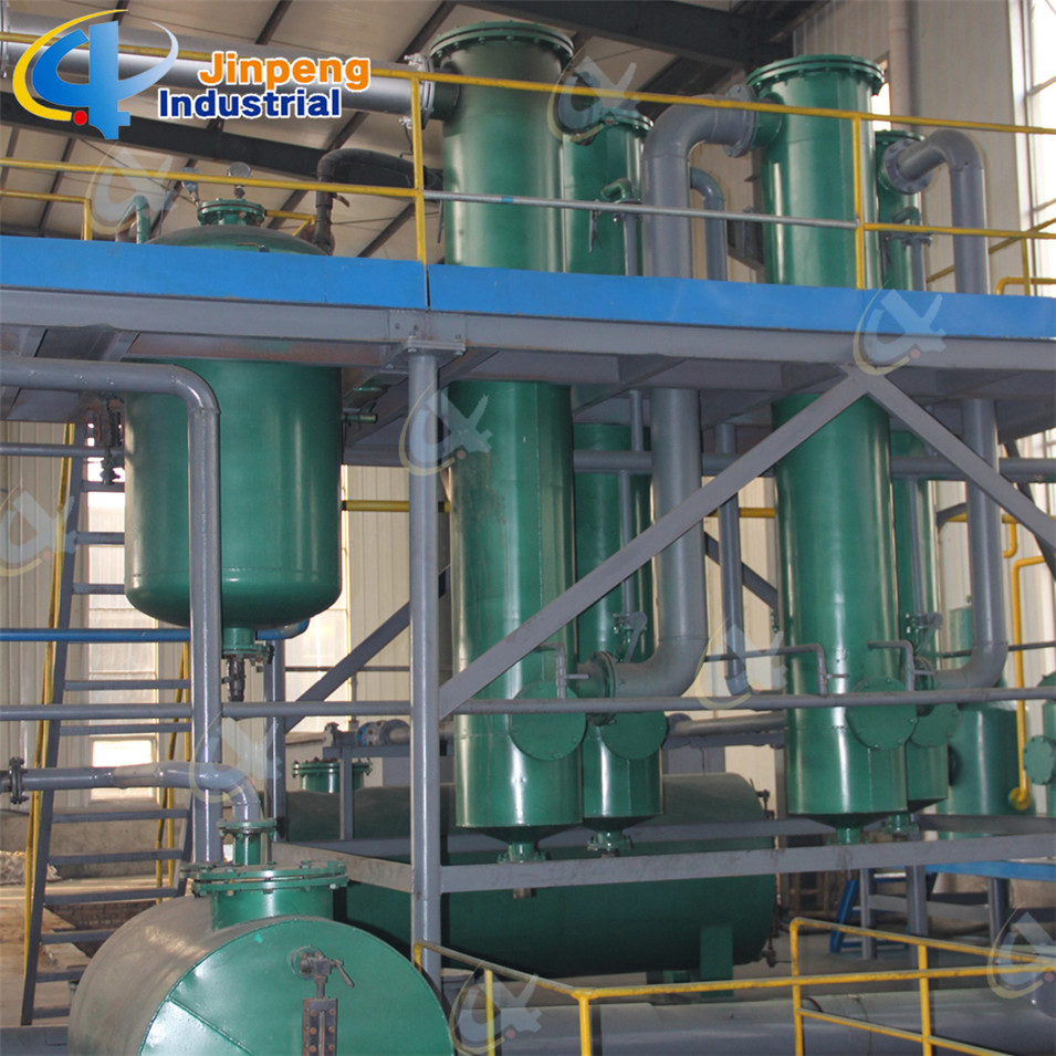 Waste Plastic to Oil Refinery Plant
