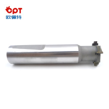 PCD component slotting forming cutter roll for router
