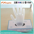 Disposable clear powder free vinyl gloves
