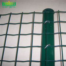 Factory PVC Coated Garden Euro Fence Panels