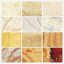 Wall Covering PVC Marble Decorative Plastic Sheet UV Panels