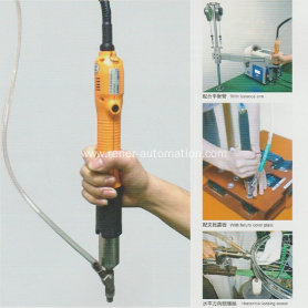 Hand-held Screw Machine with Screw Feeder